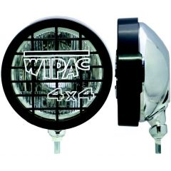 "S6015 - Pair Of Wipac 6""  Driving Lamps with Stainless Back - Comes With Guards"