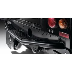 STC7635 - Rear Step (In Nas Style) For Defender 90 and 110 up to 1998 (Includes Tow Bracket)