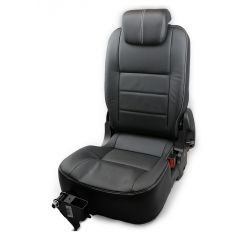 OEM Land Rover Defender Third Row Right Hand Seat - Premium Seats in Black Ottawa Leather - Fits from 2007 Onwards