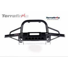 TF001AC - Terrafirma Tubular Winch Bumper for Defender - With Air Con / With A Bar