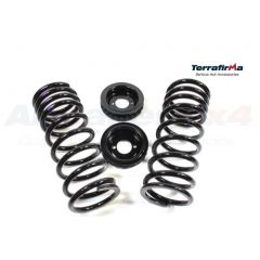 TF225 - Discovery 2 Rear Coil Spring Conversion Kit by Terrafirma - Standard Height Springs