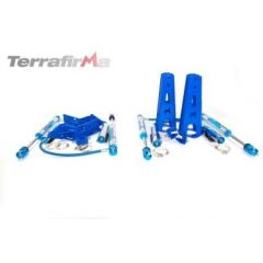 "TF238 - Terrafirma Mega Sport Plus 11"" Travel Shocks and Mounting Kit - For Defender, Discovery 1 and Range Rover Classic"