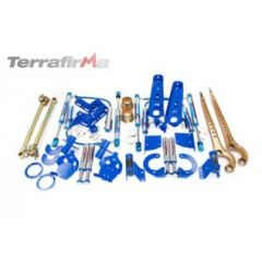 TF241 - Terrafirma Hydraulic Bump Stop and Mounting Kit - For Defender 90, Discovery 1 and Range Rover Classic
