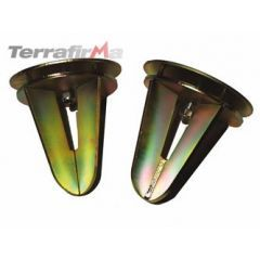 TF510 - Terrafirma Rear Coil Spring Dislocation Cones - For Defender 90, Discovery 1 and Range Rover Classic