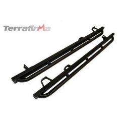 TF810HICAP - Tree Sliders Black for Defender 110 Hi-Capacity Pick Up by Terrafirma