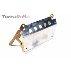 TF841L - Terrafirma Alloy Steering Guard - For Left Hand Drive Defender - Lightweight without Compromising Strength