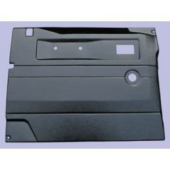 TR263A - Defender Replacement Door Card - Front Left Hand with Manual Windows In Black ABS Plastic (Fits from 2005 Onwards)