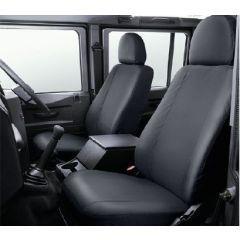 VPLDS0011 - Defender Front Seat Covers in Black - 2007 Onwards - Genuine Land Rover Item