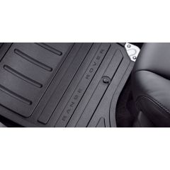 VPLSS0106 - Range Rover Sport Premium Two-Piece Rubber Mat Set In Black For RHD/Late