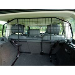 VUB002120 - Range Rover L322 Mesh Style Dog Guard In Black (Half Length)