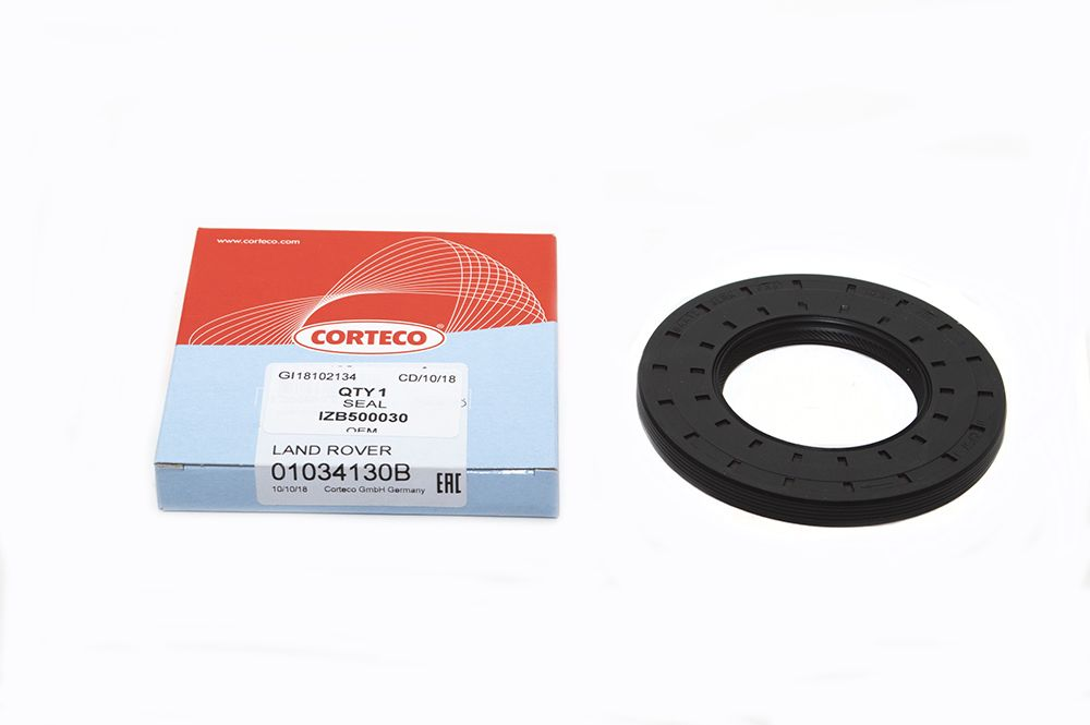 Rotary shaft oil seal 25 x 44 x pack height, model