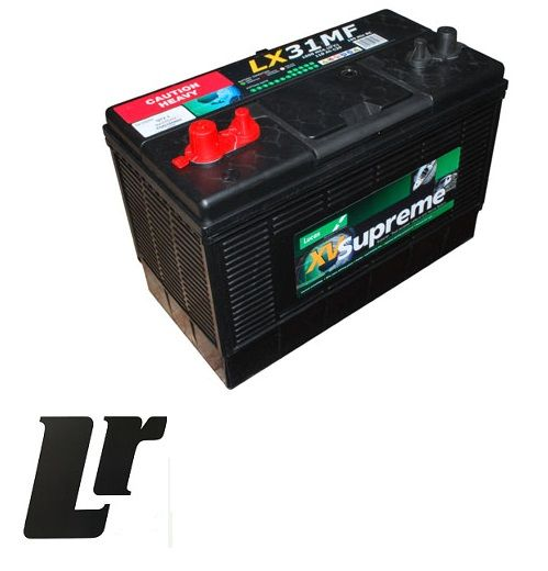 YGD100860 - Heavy Duty Battery For TD5 Defender and Discovery - Either OEM  or Genuine Available