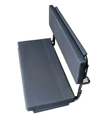 Surprising Ext057 Dgv 2 Man Wolf Bench Seat Grey Vinyl By Exmoor Trim Dailytribune Chair Design For Home Dailytribuneorg