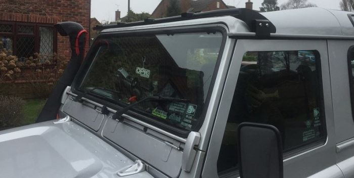 2 Range Rover Classic Light Bar With 4 Led Lights Land Rover