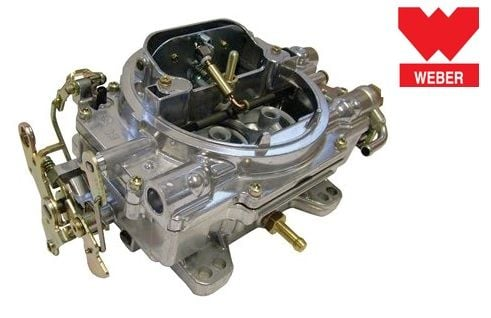 DA3049 - V8 4-Barrel Carb Conversion kit by Weber - Kit Includes Manifold -  For Defender, Discovery 1 and Range Rover Classic V8 3 5
