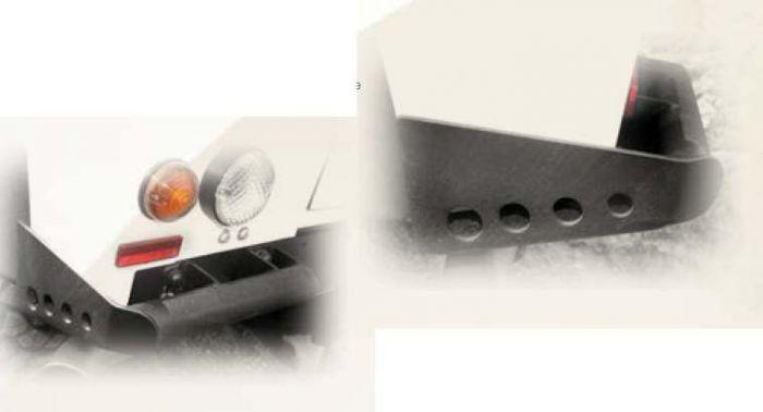 Land rover defender TD5 projecteur finisher set