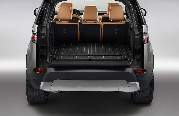 VPLRS0373AAM - Discovery 5 Rear Loadspace Mat - For Espresso Interior  Vehicles without Rear Air Conditioning