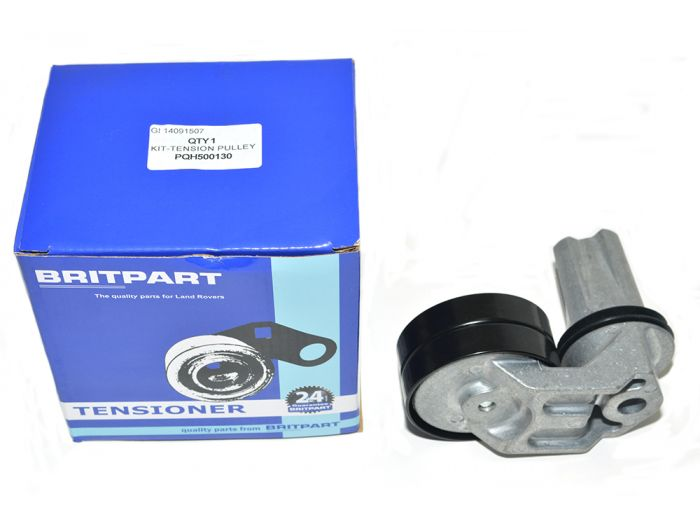 GENUINE LR PQH500130 Range Rover Sport 2.7 TDV6 Drive Belt Idler Pulley /& Belt