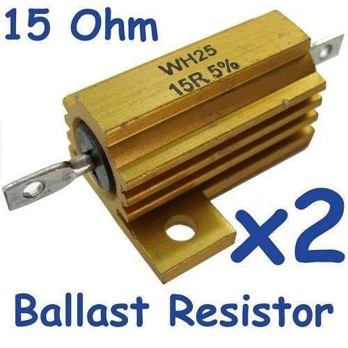 Resistor purpose of ballast What is