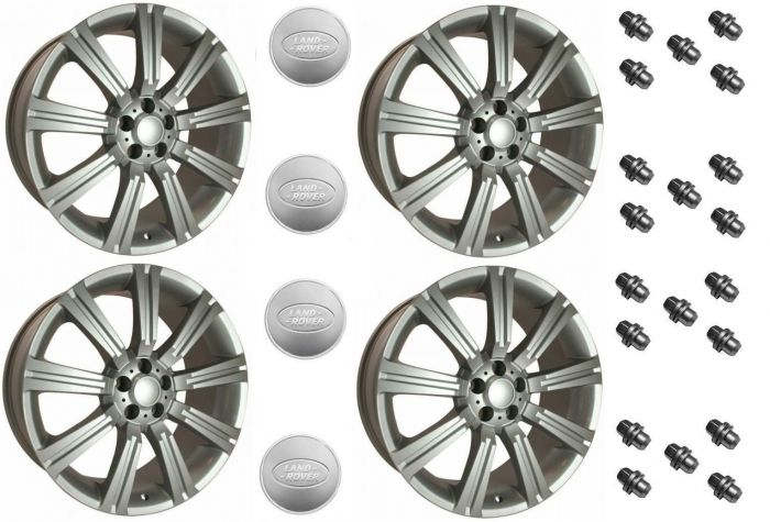 Chrome Plated Valve Caps Pack of 4 Land Rover Discovery
