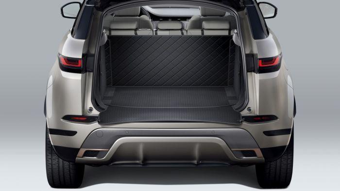 For Range Rover EVOQUE 12-19 S.steel Car Rear Bumper Protector Trunk Cover