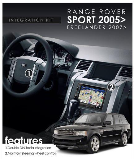 Range Rover P38 1994-2002 Car Stereo Radio Single Din Facia Trim