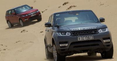 JLR Sales Soar for Middle East and North Africa
