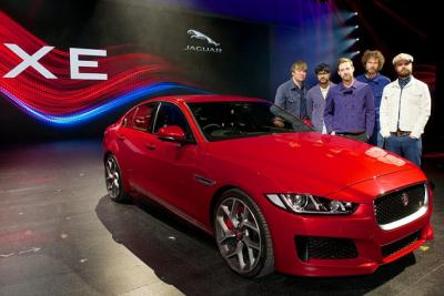 New Jaguar Saloon Arrives for Star-Studded Premier