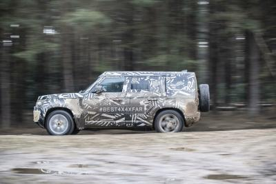 Jaguar Land Rover goes on the attack with new Defender