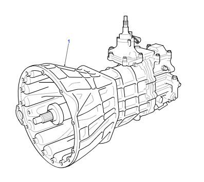 1998 Land Rover Discovery Transmission Diagram