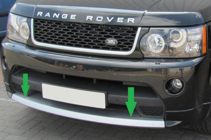 Lr019169 Rrb769 Front Towing Eye Cover For Range Rover Sport
