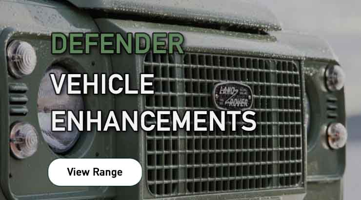 Land Rover Defender Vehicle Enhancements